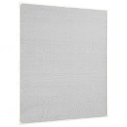 stradeXL Magnetyczna moskitiera okienna, biała, 120x140 cm