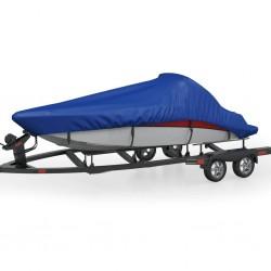 stradeXL Pokrowiec na łódź, niebieski, 710 x 345 cm