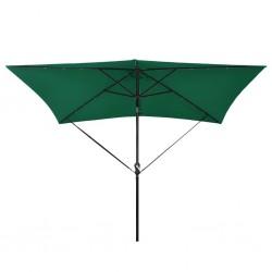 stradeXL Zestaw pasków do mocowania parasola, czarny, polipropylen