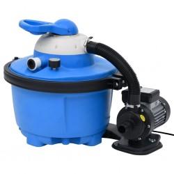 stradeXL Pompa z filtrem piaskowym, 385 x 620 x 432 mm, 200 W, 25 L