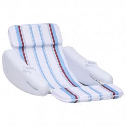 stradeXL Pływający fotel basenowy, 140x83x60 cm