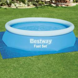 Bestway Mata pod basen Flowclear, 335 x 335 cm