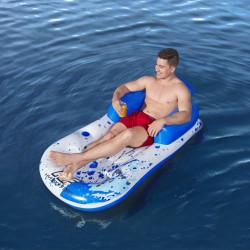 Bestway Materac basenowy Hydro-Force, 150x77x50 cm, niebieski