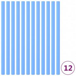 stradeXL Piankowe rękawy na trampolinę, 12 szt., 92,5 cm, niebieskie