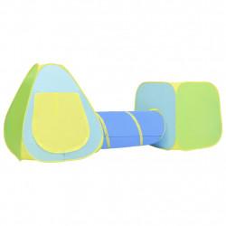 stradeXL Namiot do zabawy dla dzieci, ze 100 piłeczkami, kolorowy
