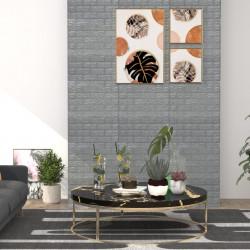 stradeXL Panele 3D z imitacją cegły, samoprzylepne, 10 szt., antracytowe