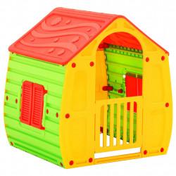 stradeXL Domek do zabawy dla dzieci, 102x90x109 cm