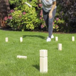HI Drewniana gra ogrodowa Kubb