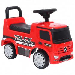 stradeXL Jeździk ciężarówka Mercedes-Benz, czerwony
