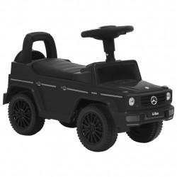 stradeXL Jeździk samochód Mercedes-Benz G63, czarny
