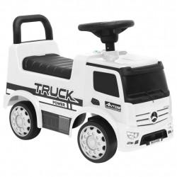stradeXL Jeździk ciężarówka Mercedes-Benz, biały