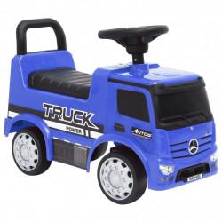 stradeXL Jeździk ciężarówka Mercedes-Benz, niebieski