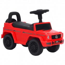 stradeXL Jeździk samochód Mercedes-Benz G63, czerwony