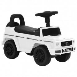 stradeXL Jeździk samochód Mercedes-Benz G63, biały